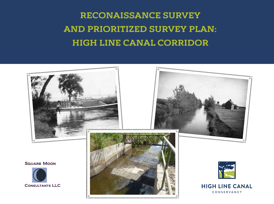 High Line Canal Historic Survey 2016